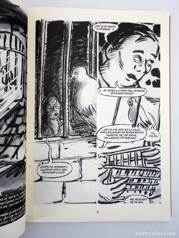 Cómics: LA VOZ QUE NO CESA. VIDA DE MIGUEL HERNÁNDEZ (Boldú / Pereira) EDT, 2013. OFRT antes 19,95E - Foto 4 - 113830398