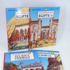 Cómics: ELS VIATGES DE ALIX 1 A 4. COMPLETA (MARTIN / PLEYERS) GLENAT, 2002. OFRT ANTES 42E. Lote 220410568