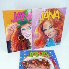 Cómics: JANA 1 2 3. COMPLETA (PURITA CAMPOS / ANDRIES BRANDT) GLENAT, 2008. OFRT ANTES 53,85E. Lote 284350488
