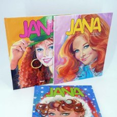 Fumetti: JANA 1 2 3. COMPLETA (PURITA CAMPOS / ANDRIES BRANDT) GLENAT, 2008. OFRT ANTES 53,85E. Lote 189783200