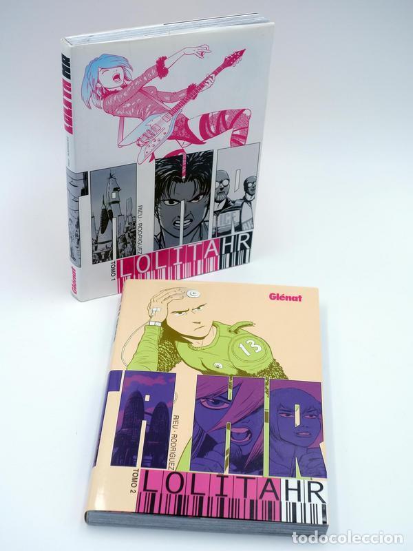 LOLITA HR 1 Y 2. COMPLETA (JAVIER RODRÍGUEZ Y RIEU) GLENAT, 2007. OFRT ANTES 17,9E (Tebeos y Comics - Glénat - Autores Españoles)