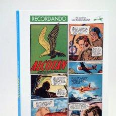 Cómics: RECORDANDO ALCOTÁN, AVENTURAS DEL AIRE (FERNÁNDEZ / VIGIL) GLENAT, 2013. OFRT ANTES 29,95E. Lote 160176358