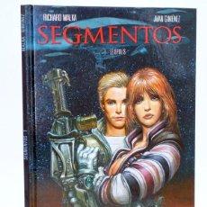 Cómics: SEGMENTOS (JUAN GIMÉNEZ / RICHARD MALKA) GLENAT, 2011. OFRT ANTES 13,95E. Lote 253782005