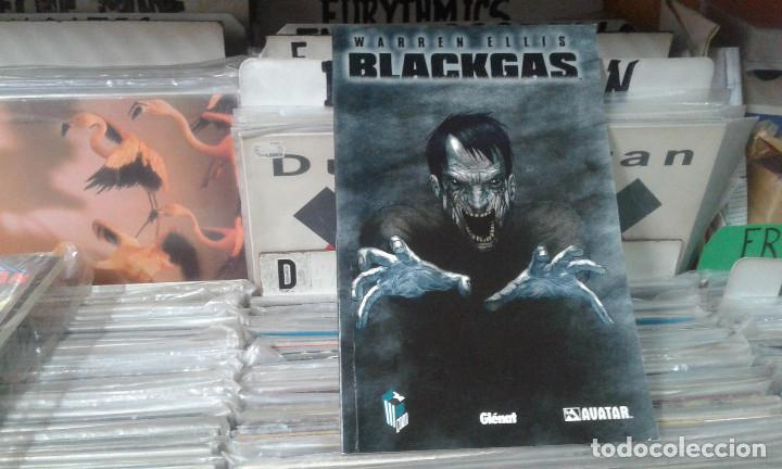 BLACKGAS WARREN ELLIS COLECCIÓN AVATAR EDITORIAL GLÉNAT 2008 (Tebeos y Comics - Glénat - Comic USA)