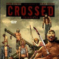 Cómics: CROSSED-3 (GLÉNAT-AVATAR, 2012), DE DAVID LAPHAM Y RAÚLO CÁCERES. NUEVO.. Lote 114912439