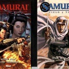 Cómics: SAMURAI. CIELO Y TIERRA TOMOS 1 Y 2. COMPLETA (GLÉNAT, 2007-2010) DE RON MARZ Y LUKE ROSS.. Lote 221819708
