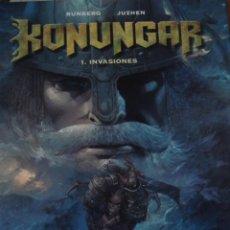 Cómics: KONUNGAR. INVASIONES. SYLVAIN RUNBERG. JUZHEN. EDITORIAL GLENAT.. Lote 115291007