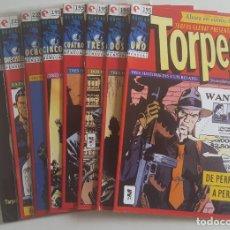 Cómics: TORPEDO 1936 #1-5,8,16,17 (GLENAT, 1994). Lote 115419263