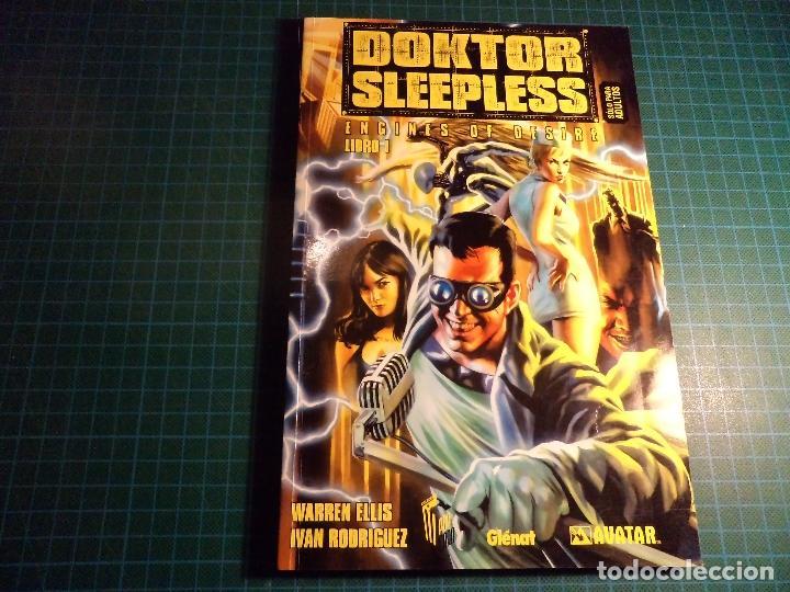 DOKTOR SLEEPLESS. LIBRO 1. (B-6) (Tebeos y Comics - Glénat - Comic USA)
