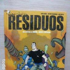 Cómics: RESIDUOS -UNA AVENTURA DE MIRKO AGENTE ESPACIAL. Lote 115601483
