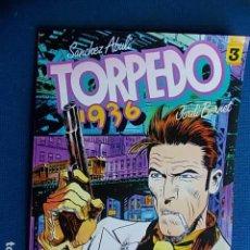 Cómics: TORPEDO 1936 Nº 3. Lote 115645127