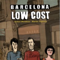 Cómics: BARCELONA LOW COST, D' ANÍBAL MENDOZA I MARTÍN TOGNOLA (GLÉNAT, 2010) EN CATALÀ. Lote 115696759