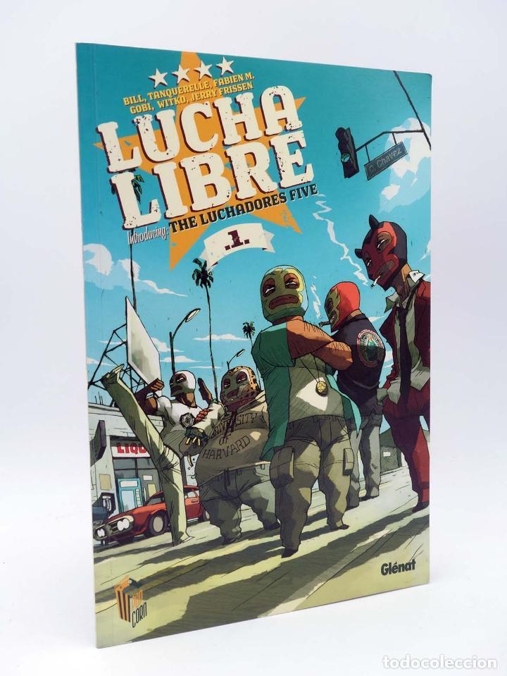 Cómics: LUCHA LIBRE: THE LUCHADORES FIVE 1 2 3 y 4. COMPLETA (Jerry Frissen) Glenat, 2008. OFRT antes 39,9E - Foto 2 - 116539435