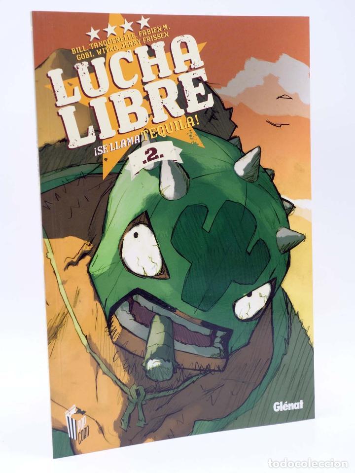 Cómics: LUCHA LIBRE: THE LUCHADORES FIVE 1 2 3 y 4. COMPLETA (Jerry Frissen) Glenat, 2008. OFRT antes 39,9E - Foto 3 - 116539435