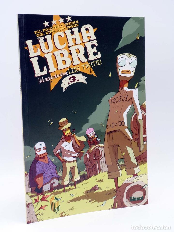 Cómics: LUCHA LIBRE: THE LUCHADORES FIVE 1 2 3 y 4. COMPLETA (Jerry Frissen) Glenat, 2008. OFRT antes 39,9E - Foto 4 - 116539435