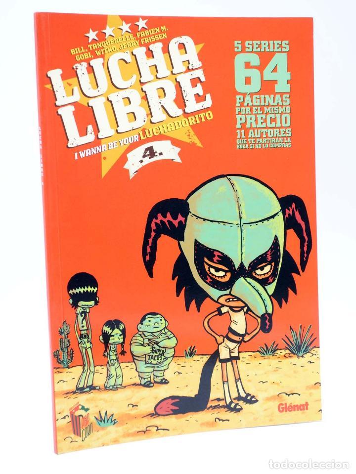 Cómics: LUCHA LIBRE: THE LUCHADORES FIVE 1 2 3 y 4. COMPLETA (Jerry Frissen) Glenat, 2008. OFRT antes 39,9E - Foto 5 - 116539435