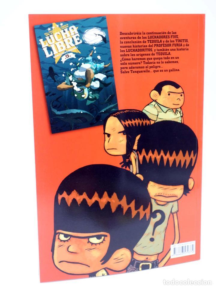 Cómics: LUCHA LIBRE: THE LUCHADORES FIVE 1 2 3 y 4. COMPLETA (Jerry Frissen) Glenat, 2008. OFRT antes 39,9E - Foto 6 - 116539435