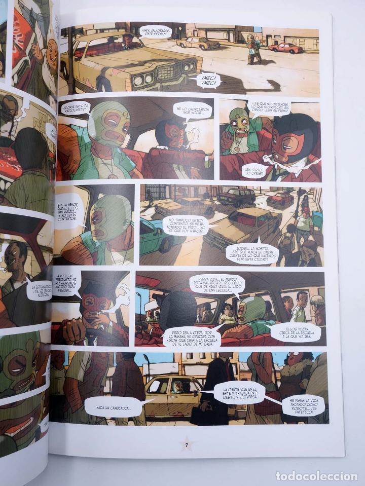 Cómics: LUCHA LIBRE: THE LUCHADORES FIVE 1 2 3 y 4. COMPLETA (Jerry Frissen) Glenat, 2008. OFRT antes 39,9E - Foto 7 - 116539435