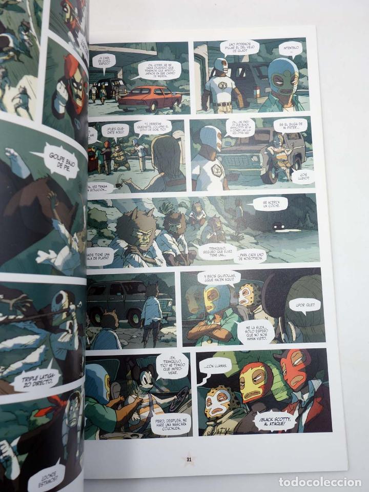 Cómics: LUCHA LIBRE: THE LUCHADORES FIVE 1 2 3 y 4. COMPLETA (Jerry Frissen) Glenat, 2008. OFRT antes 39,9E - Foto 8 - 116539435