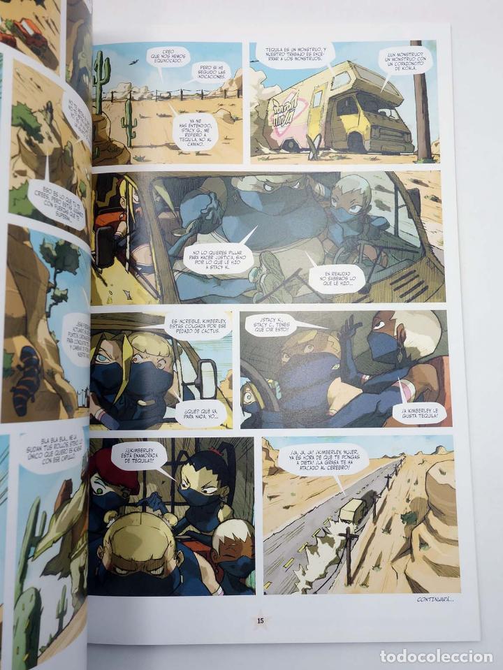 Cómics: LUCHA LIBRE: THE LUCHADORES FIVE 1 2 3 y 4. COMPLETA (Jerry Frissen) Glenat, 2008. OFRT antes 39,9E - Foto 9 - 116539435