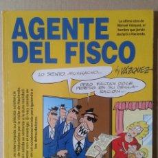 Cómics - Agente del Fisco, by Vázquez. Colección Genios del Humor n°2. Glénat, 1993/1997. - 117282111