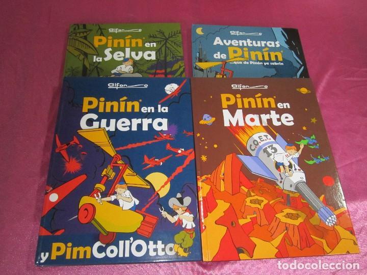 AVENTURAS DE PININ COMPLETA 4 TOMOS ALFONSO .EXCELENTE (Tebeos y Comics - Glénat - Autores Españoles)