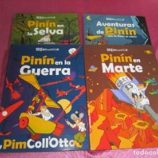 Cómics: AVENTURAS DE PININ COMPLETA 4 TOMOS ALFONSO .EXCELENTE. Lote 117501995