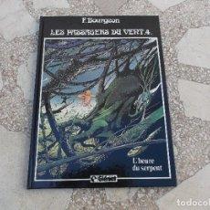 Cómics: F. BOURGEON. LES PASSAGERS DU VENT 4. L'HEURE DU SERPENT.48 PAGINAS. 30CM X 21.. Lote 117619675