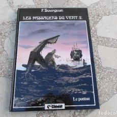 Cómics: F. BOURGEON. LES PASSAGERS DU VENT 2. LE PONTON.48 PAGINAS. 30CM X 21.. Lote 117619971