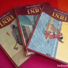 Cómics: EL TRIANGULO SECRETO INRI I.N.R.I. 1, 2 Y 3 ( CONVARD FALQUE ) ¡MUY BUEN ESTADO! GLENAT TAPA DURA. Lote 118614799