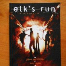 Cómics: ELK'S RUN - LA HUIDA DE ELK - GLENAT (BD). Lote 118932991