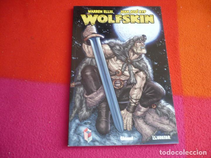 WOLFSKIN ( WARREN ELLIS JUAN JOSE RYP ) ¡MUY BUEN ESTADO! GLENAT AVATAR POPCORN (Tebeos y Comics - Glénat - Comic USA)