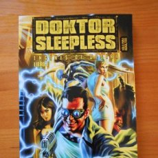 Cómics: DOKTOR SLEEPLESS Nº 1 - ENGINES OF DESIRE - WARREN ELLIS - IVAN RODRIGUEZ - GLENAT (BD). Lote 119069091