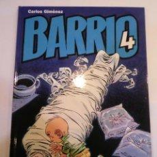 Cómics: BARRIO NUM 4 - CARLOS JIMENEZ - CARTONÉ -2007. Lote 119371899