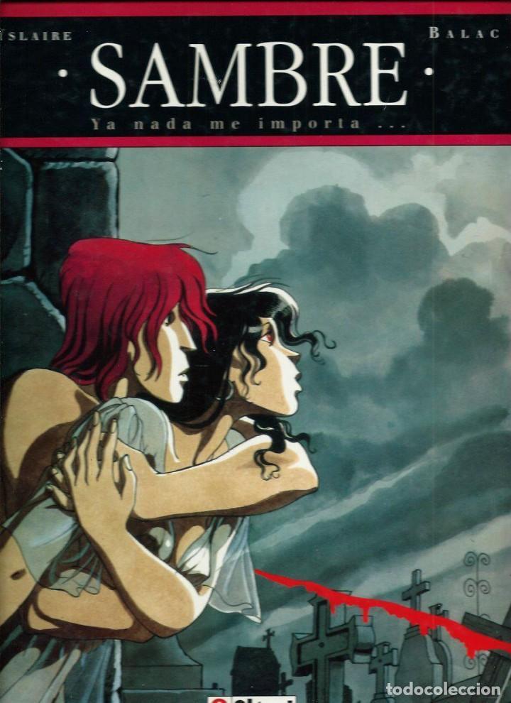 YSLAIRE & BALAC - SAMBRE 1 - YA NADE ME IMPORTA... - GLENAT - COL. BIBLIOTECA GRAFICA 1993 - GRAN FL (Tebeos y Comics - Glénat - Serie Erótica)