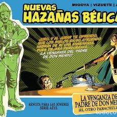 Cómics: NUEVAS HAZAÑAS BÉLICAS-7: LA VENGANZA DEL PADRE DE DON MENDO, DE VIZUETE, MIGOYA Y ACUÑA (EDT, 2012). Lote 128238516