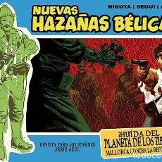 Cómics: NUEVAS HAZAÑAS BÉLICAS-15: HUIDA DEL PLANETA DE LOS TIBIOS, DE SEGUÍ, MIGOYA Y ACUÑA (EDT, 2012). Lote 128238799