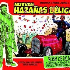 Cómics: NUEVAS HAZAÑAS BÉLICAS-16: ROSSI DE PALMA, DE PERE JOAN, MIGOYA Y PORTADA DE ACUÑA (EDT, 2012). Lote 128238830