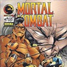 Cómics: MORTAL KOMBAT- Nº 4- SANGRE Y FUEGO- AMERIMANGA- TREPIDANTE-1995- MUY RARO- BUENO- LEAN- 8775. Lote 121369668