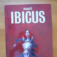 Cómics: IBICUS - OBRA COMPLETA - RABATE - GLENAT - TAPA DURA (A1). Lote 121742775