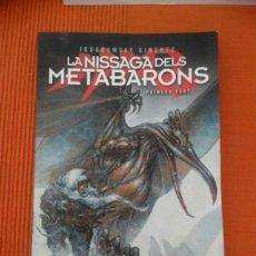 Cómics: LA NISSAGA DELS METABARONS PART 1. EDICIÓN EN CATALÁN 2007. Lote 121960303