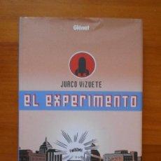 Cómics: EL EXPERIMENTO - JUACO VIZUETE - GLENAT - TAPA DURA (BZ). Lote 122075795