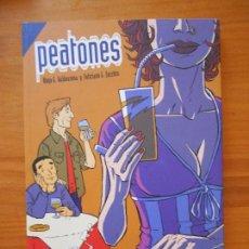 Cómics: PEATONES - ALEJO G. VALDEARENA - FELICIANO G. ZECCHIN - GLENAT (BÑ). Lote 122089831
