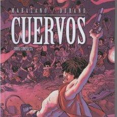 Cómics: CUERVOS - INTEGRAL (MARAZANO / DURAND) GLENAT - TAPA DURA - IMPECABLE - OFI15. Lote 134080951