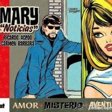 Cómics: MARY NOTICIAS (RICARDO ACEDO / CARMEN BARBARA) GLENAT - TAPA DURA - IMPECABLE - OFI15. Lote 122231395