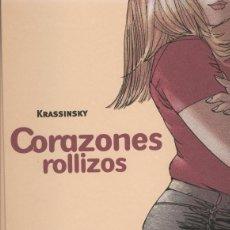 Cómics: CORAZONES ROLLIZOS Nº 1 (KRASSINSKY) GLENAT - TAPA DURA - IMPECABLE - OFI15. Lote 122824111