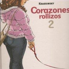 Cómics: CORAZONES ROLLIZOS Nº 2 (KRASSINSKY) GLENAT - TAPA DURA - IMPECABLE - OFI15. Lote 122824139