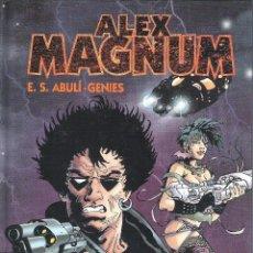 Cómics: ALEX MAGNUM INTEGRAL (E. S. ABULI / GENIES) GLENAT - TAPA DURA - IMPECABLE - OFI15. Lote 122921591