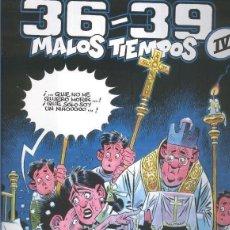 Cómics: 36-39 MALOS TIEMPOS Nº 4 (CARLOS GIMENEZ) GLENAT - TAPA DURA - IMPECABLE - OFI15. Lote 134057478