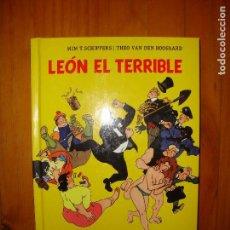 Cómics: LEÓN EL TERRIBLE - WIM T. SCHIPPERS, THEO VAN DEN BOOGAARD, MUY BUEN ESTADO. Lote 123066403